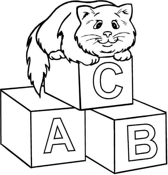 Colouring Pages Of Abc : Abc coloring pages to print